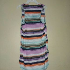 Tops - Colorful striped sleeveless Top